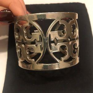 Tory Burch Silver Cuff Bracelet